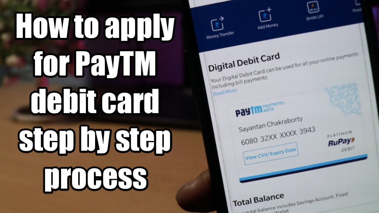 How to apply For Paytm Physical Debit Card | Step By Step Process