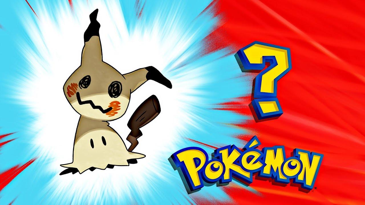 191 Pikachu Nuevo Pok 233 Mon Con Una Historia Triste Y Perturbadora Mimikyu Youtube
