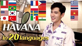 Havana (Camila Cabello) 1 Guy Singing in 20 Different Languages - Cover by Travys Kim