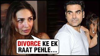 Malaika Arora REVEALS What Happened A Night Before Her Divorce With Arbaaz Khan