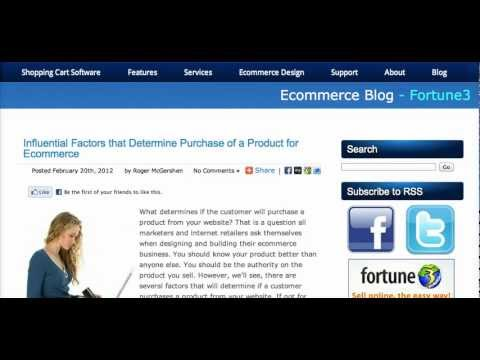 The Most Influential Factors of Ecommerce : Online Shopping Behavior