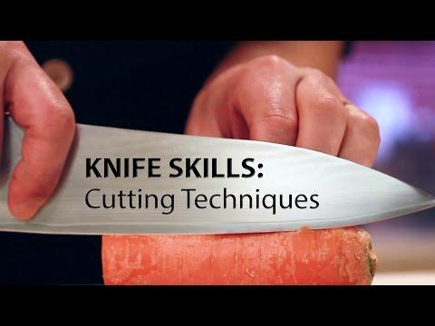 Knife Skills: Cutting Techniques