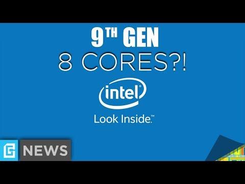 9th Gen Intel - 8 Core i7 & 12 Thread i5?!