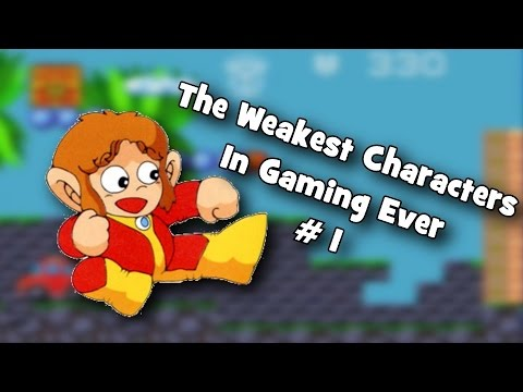 The Weakest Characters In Gaming Ever - Alex Kidd
