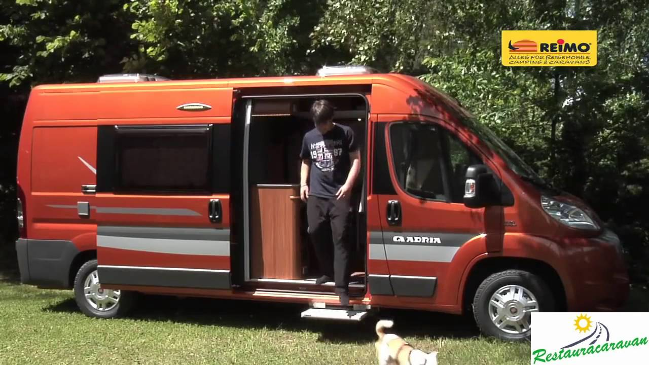 fiat ducato camper equipamiento reimo youtube. Black Bedroom Furniture Sets. Home Design Ideas
