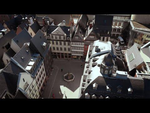 F.A.Z. exklusiv: Mit der Drohne über Frankfurts neueAltstadt