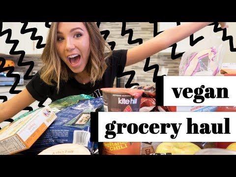 huge vegan grocery haul!