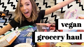 huge vegan grocery haul!