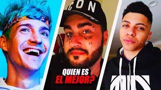 LA PRIMERA PARTIDA DE LOS MEJORES JUGADORES DE FORTNITE BATTLE ROYALE; Ninja, Lolito FDEZ Myth...