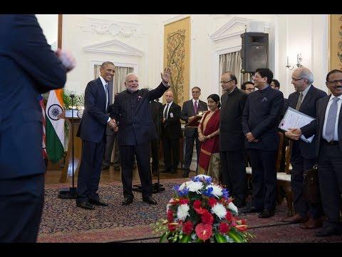 President Obama Meets with Prime Minister Modi