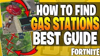 Fortnite - EASY GUIDE - Visit Different Gas Stations In A Single Match - Week 5 Challenge