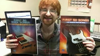 """Review of """"50 First Songs You Should Play On"""" Method Books"""