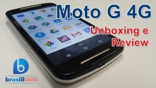 Moto G 4G - XT1078 - Unboxing e Review