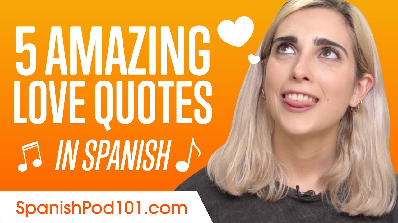 5 Amazing Love Quotes From Spanish Songs Youtube