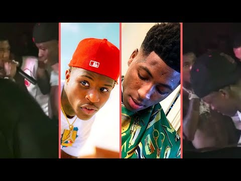 NBA YoungBoy and Quando Rondo Link Up and Fans Go Crazy