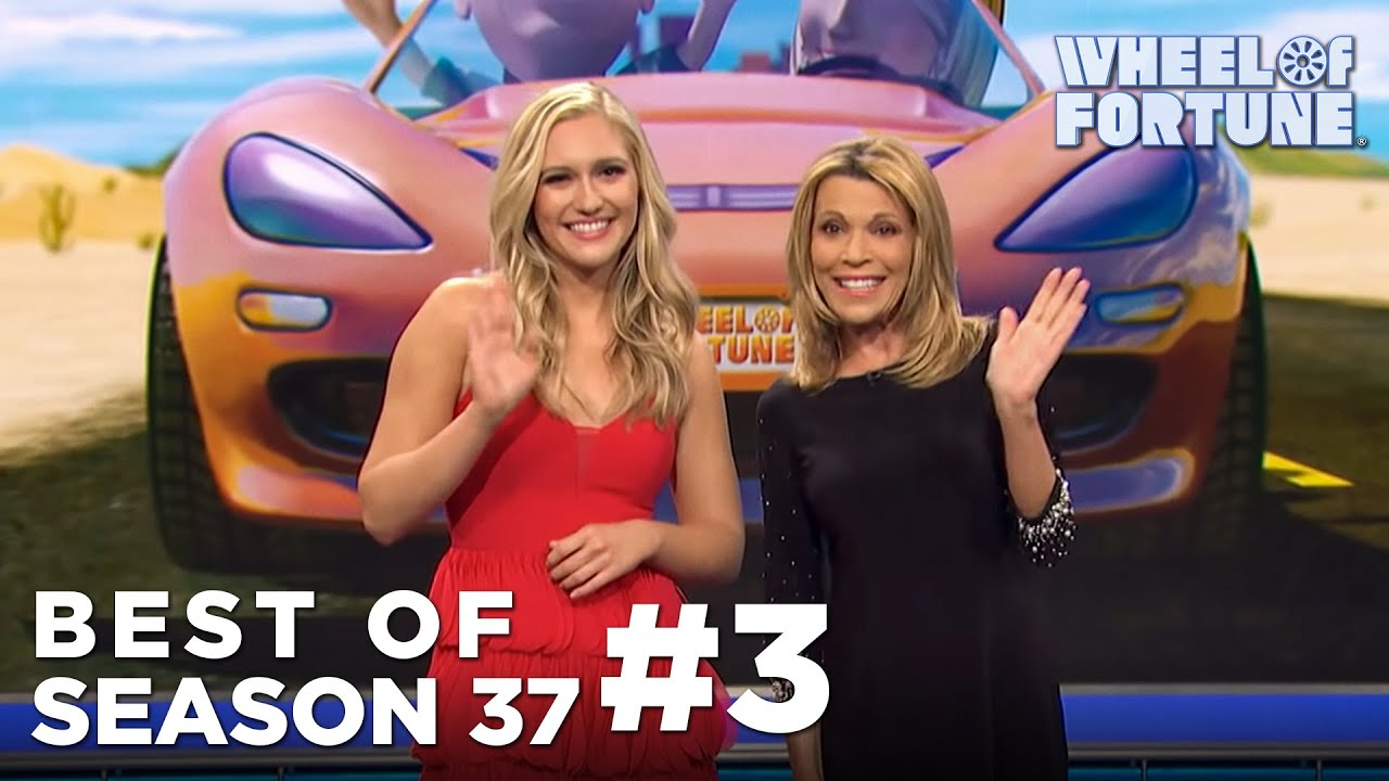 Pat Sajak's daughter Maggie helps Vanna White on 'Wheel of Fortune'