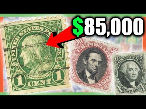 RARE STAMPS WORTH MONEY - MOST VALUABLE STAMPS!!