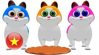 Ba Chú Mèo Con | nhac thieu nhi hay nhất | ca nhac thieu nhi | Little Treehouse
