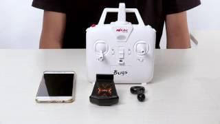 MJX Bugs 3 Brushless Drone --Tutorial & How to Add WiFi/5.8G Camera