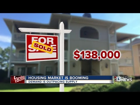 Las Vegas housing market is booming