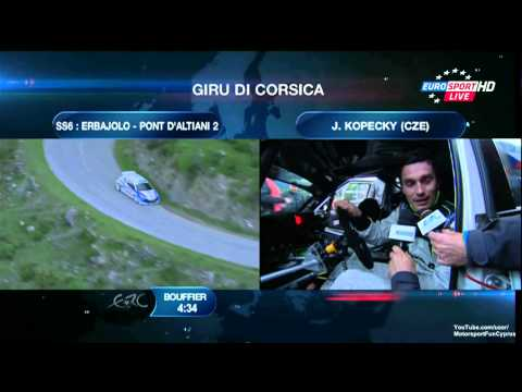 ERC 2013 France Day 1 - SS 6 Live - Part 2/4