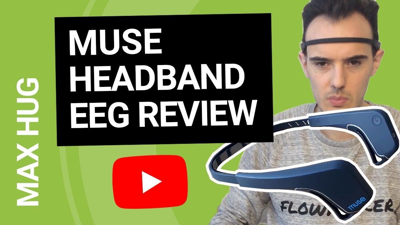 a9e2eea4ade MUSE Headband EEG Review - 30 Days Test - YouTube