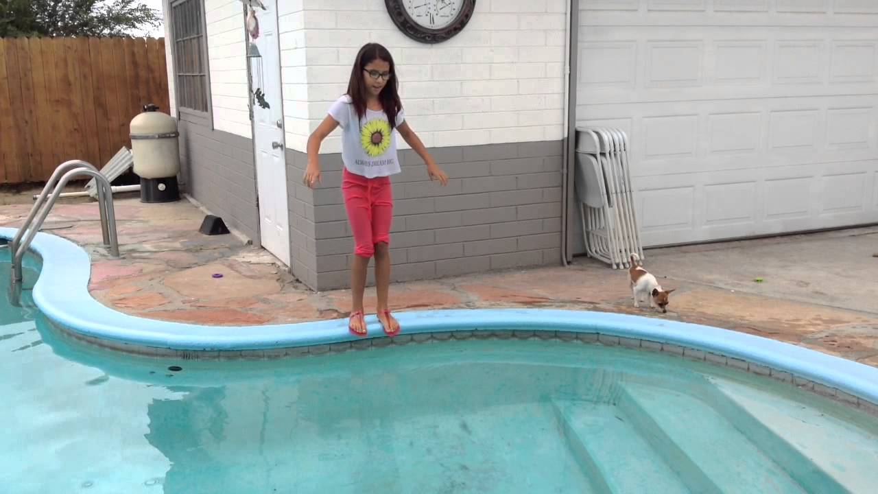 Swimming Pool Clothing : Jumping in the pool with clothes on doovi