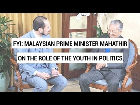 #FYI snippet: GMA Resident Analyst Richard Heydarian interviews Malaysian PM Mahathir bin Mohamad