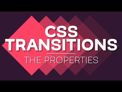 Animating with CSS Transitions - A look at the transition properties