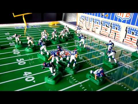 NFL Super Bowl (1986 Electric Football Game)