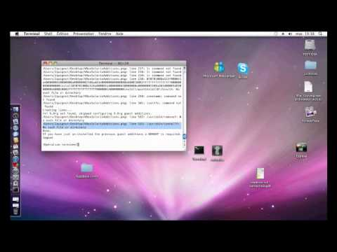 TUTO :  Installer les Guest Additions sous Mac 10.6 !