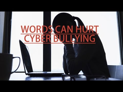 words can hurtcyber bullying youtube