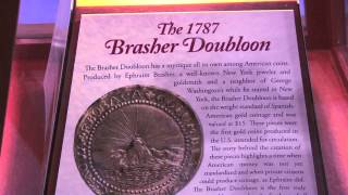 Monaco Rare Coin Displays Brasher Gold Doubloon at Chicago ANA. VIDEO: 2:16.