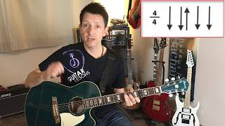 Sunrise Avenue - Dreamer - Guitar Lesson Part 2 for Beginner !!!
