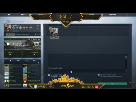 CS:GO - TRY HARDEANDO 24/7 - MM CON VIEWERS