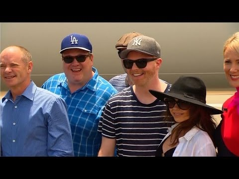 Queensland Welcomes 'Modern Family' Cast