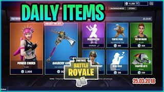 *NEW* POWER CHORD PUNK SKIN (WITH GUITAR!!) | Fortnite Battle Royale Item Shop today!