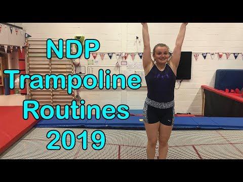 NDP Trampoline Routines 2019   KTGymnasticsFan
