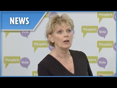 Conservative MP Anna Soubry demands a People's Vote second Brexit referendum