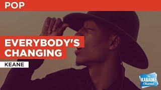 Download Mp3 Everybody's Changing : Keane   Karaoke With Lyrics