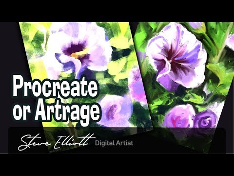 Artrage or Procreate, which is the best painting app?