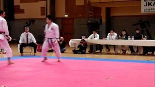 men's (NOR) vs Keisuke Nemoto (JPN) kumite team final Norway vs Japan.