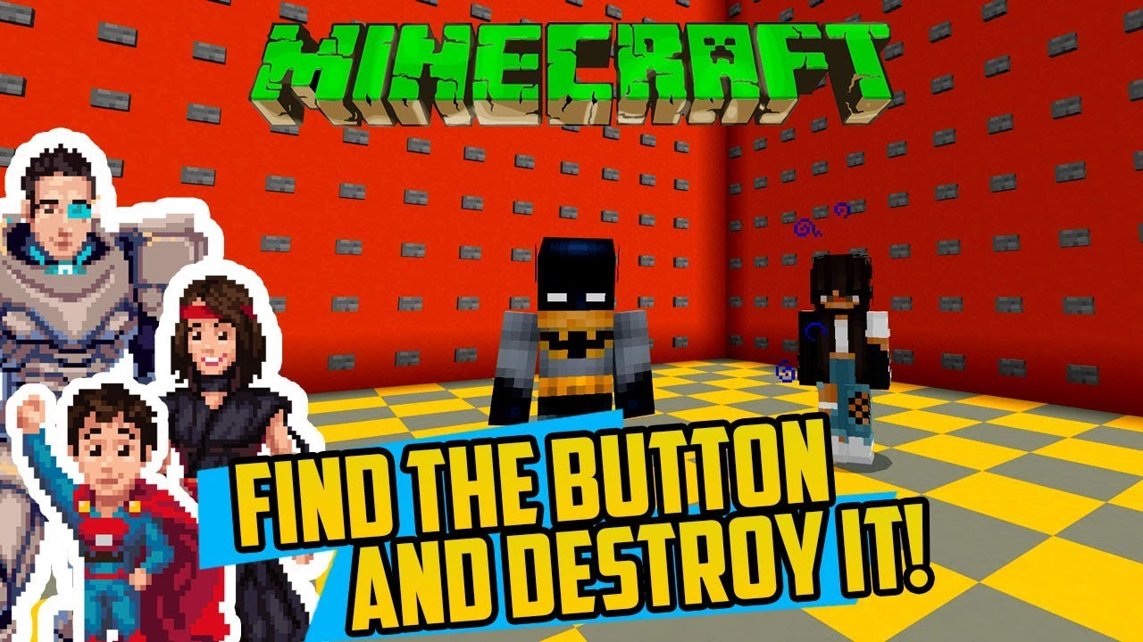 Minecraft Can T Find Button Must Set Everything On Fire Find The Button Mod Story Edition Youtube