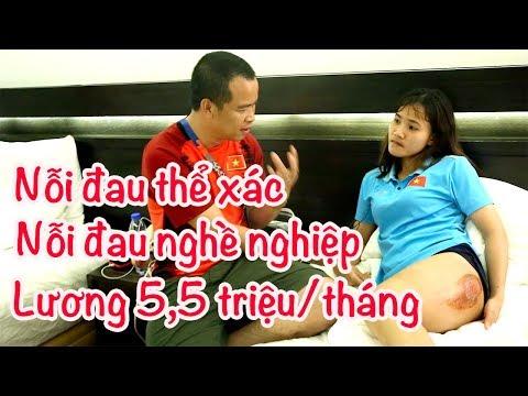 Chương Thị Kiều - vết thương khổng lồ & nỗi buồn cầu thủ nữ Việt Nam