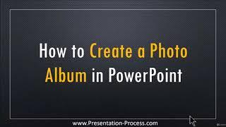 كيفية إنشاء ألبوم الصور في PowerPoint