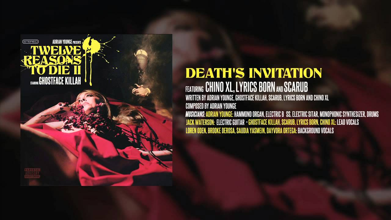 Ghostface killah adrian younge deaths invitation feat scarub ghostface killah adrian younge deaths invitation feat scarub lyrics born chino xl stopboris Image collections