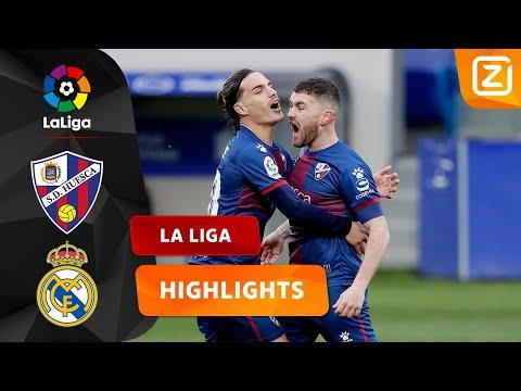 PRACHTIG DOELPUNT VAN JAVI GALÁN! 🤩   Huesca Vs Real Madrid   La Liga 2020/21   Samenvatting