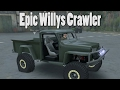 Spintires Mod Review - 1960 Willys Pickup Crawler - Really Kool Add Ons