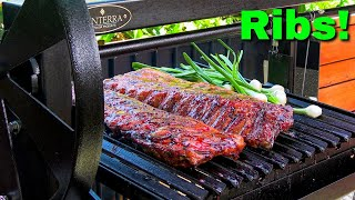 Mayan Grilled Baby Back Ribs | Argentine Grill | Ballistic BBQ