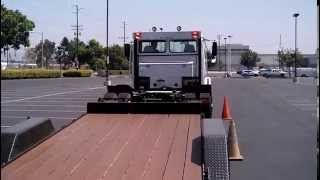 CA DMV skills Offset Backing from Orange County CDL Truck Rental